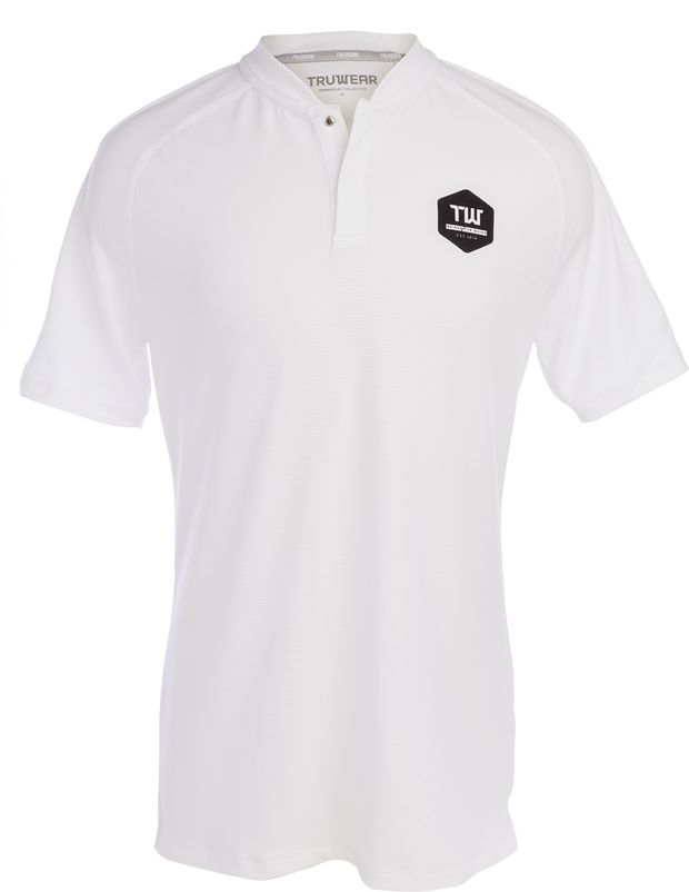 Pinnacle Lifestyle No Collar Polo - TW Logo
