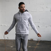 TRUWEAR Lifestyle Singular Grey Performance Sweatshirt Hoodie