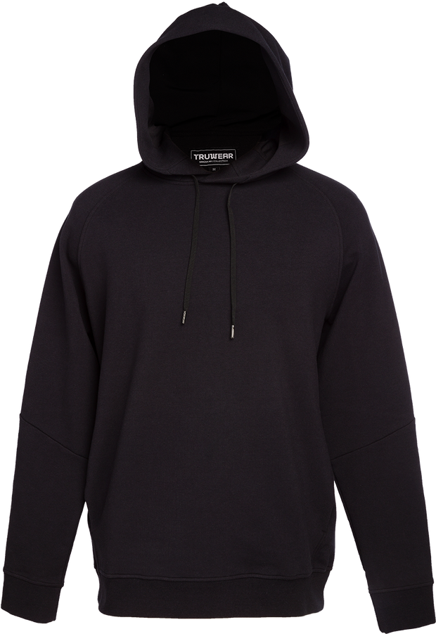 Singular Lifestyle Black Performance Active Hoodie.