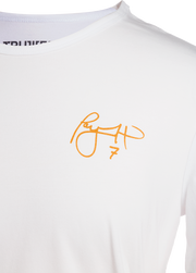 Taysom Hill Spectacle White Signature Jersey Shirt | TRUWEAR