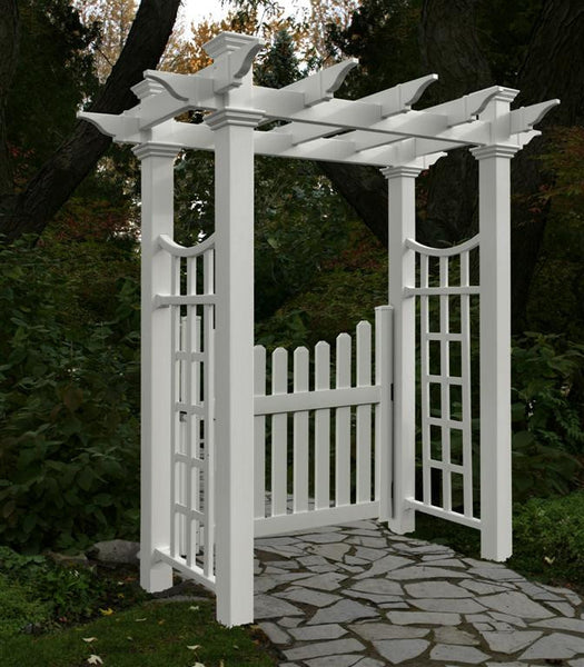 Picket Gate Charming No Need To Paint Or Stain Lifetime