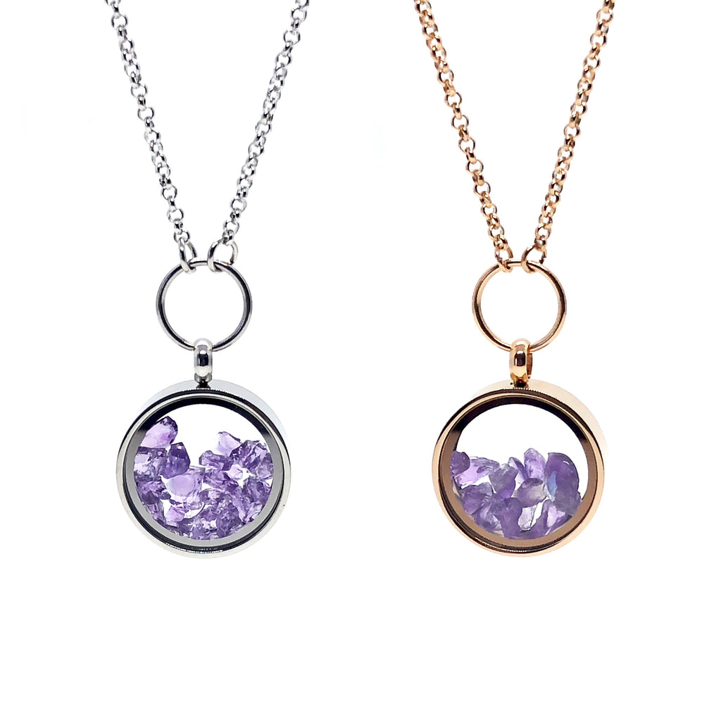 Amethyst_Essence of time_Necklaces