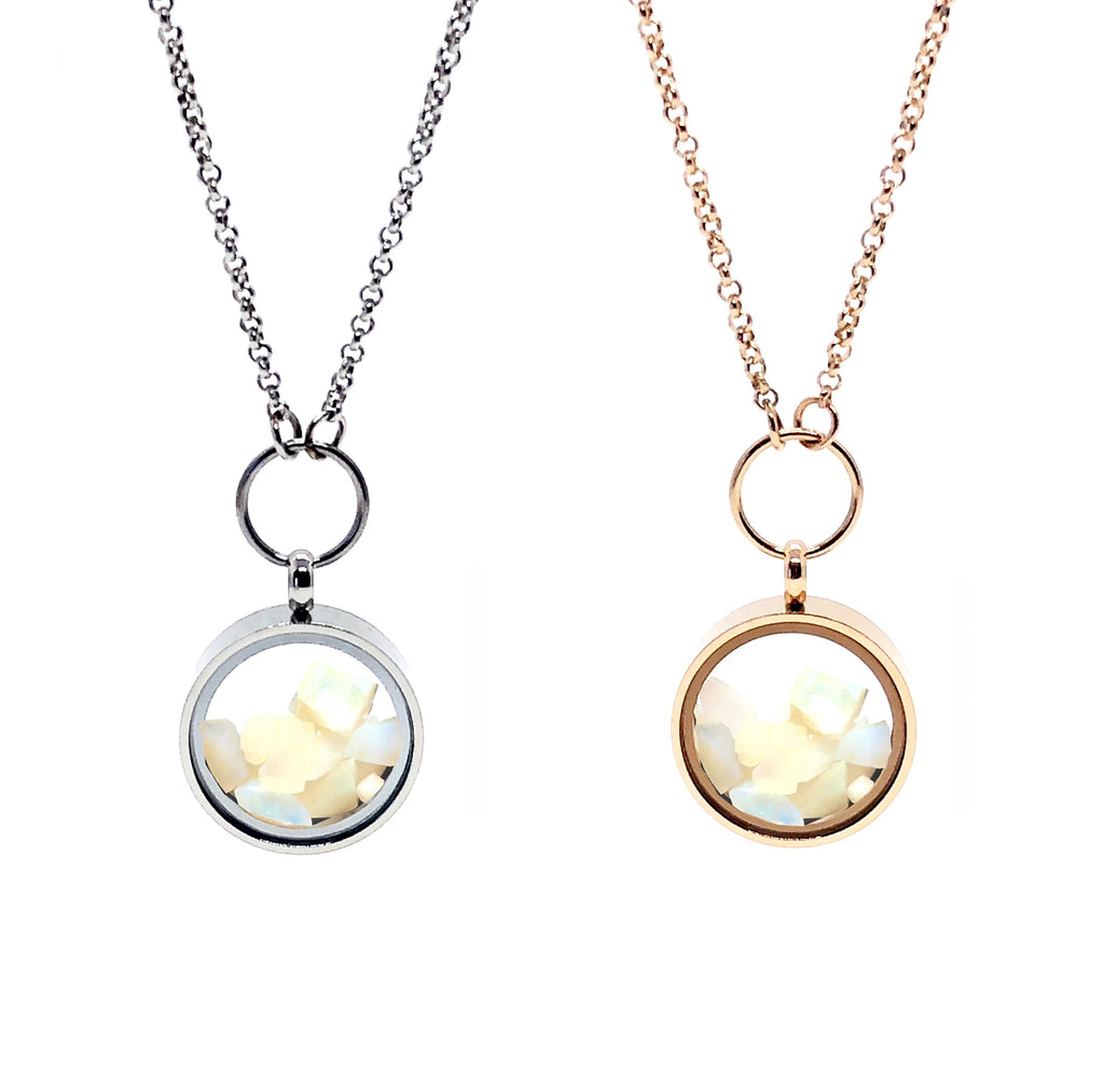 Australian Opal_Essence of Time_Necklaces