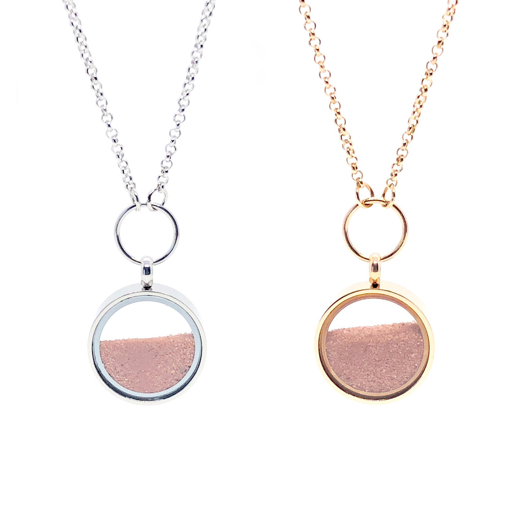 Red Desert Sand_Essence of time_Necklaces