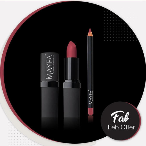 SEDUCE Lipstick With Towny Red LipPencil Free