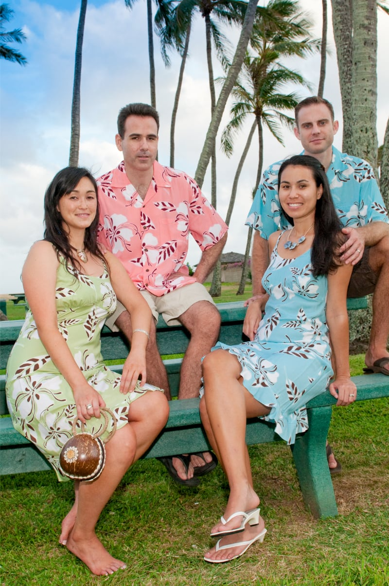 MATCHING DRESSES & HAWAIIAN ALOHA SHIRTS | MADE IN HAWAII | ALOHAZ.COM