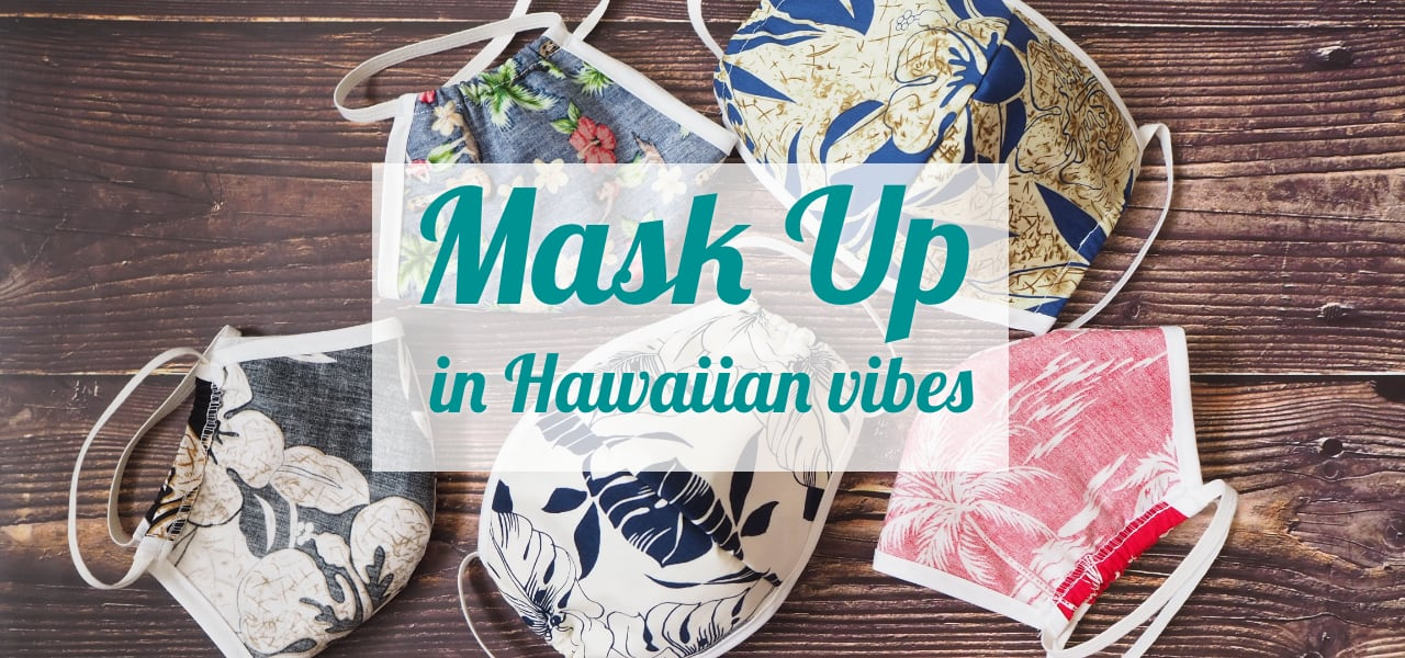 Hawaiian Style Face Masks - Made in Hawaii