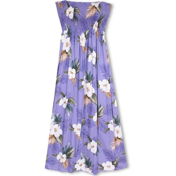 anya purple hawaiian maxi dress | long dress hawaiian