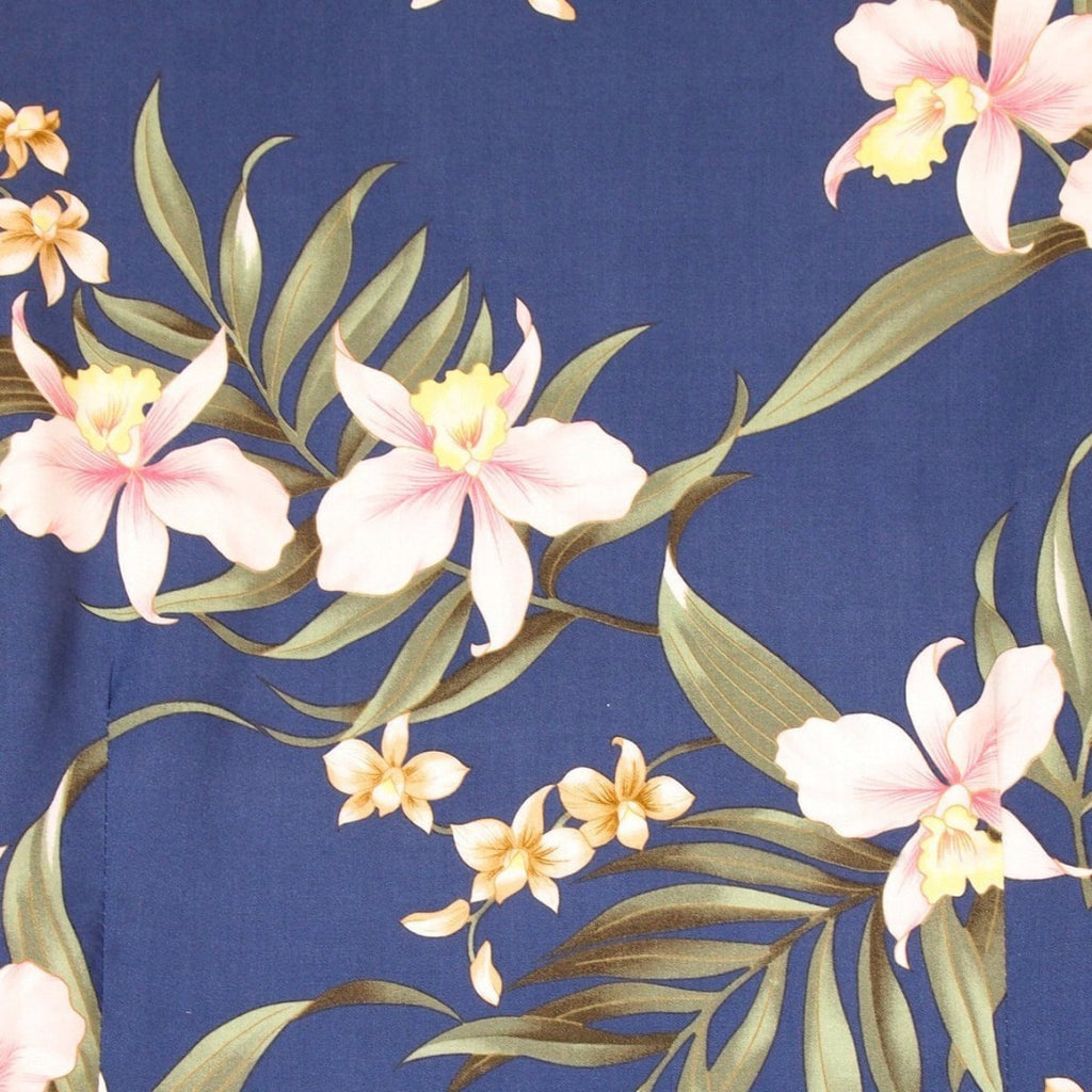 Bamboo Orchid Blue Matching Clothing Collection