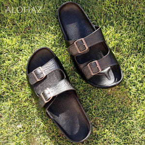 black buckle jandals® - pali hawaii Jesus sandals | hawaiian sandals pali hawaii flip flops