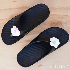 black flip™ rockstar - pali hawaii sandals | hawaiian sandals pali hawaii flip flops