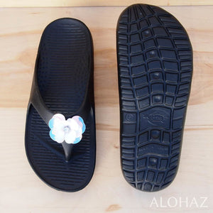 black flip rockstar - pali hawaii sandals | hawaiian sandals pali hawaii flip flops