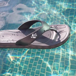 black kona™ - pali hawaii flip flops | hawaiian sandals pali hawaii flip flops