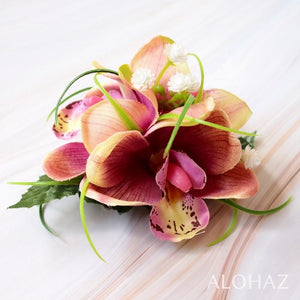 Blush Orchid Wonder Hawaiian Flower Hair Clip | Hair Accessories