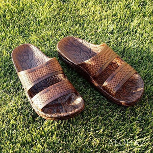 brown jon jandals® - pali hawaii Jesus sandals | hawaiian sandals pali hawaii flip flops