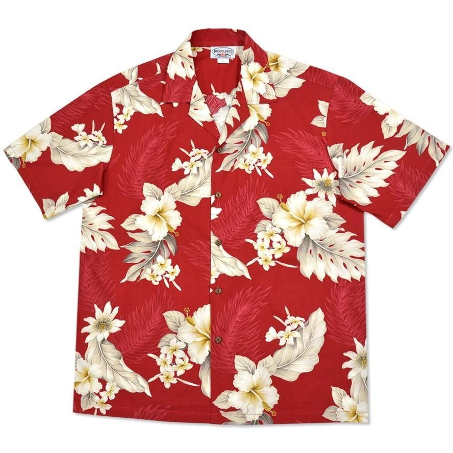 chili hawaiian cotton shirt | hawaiian shirt men