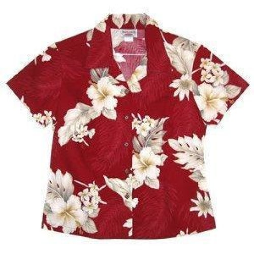 chili hawaiian lady blouse | women blouse hawaiian