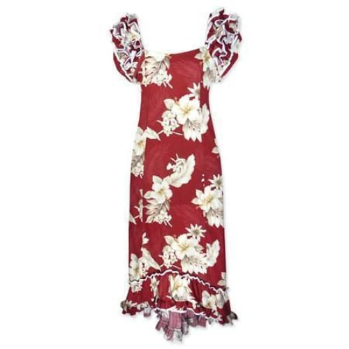 chili hawaiian meaaloha dress | long dress hawaiian