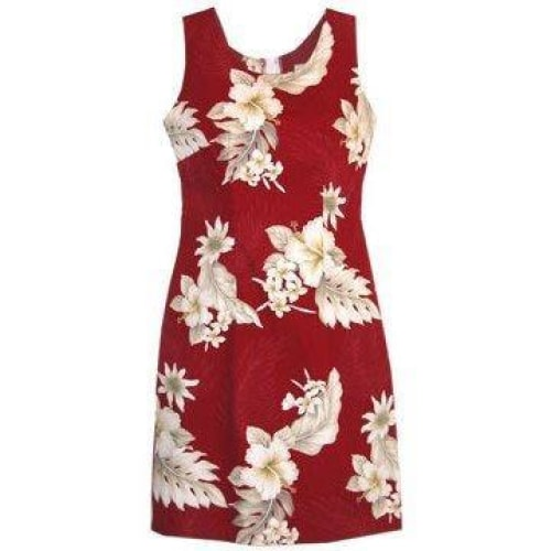 chili hawaiian tank dress | short dress hawaiian