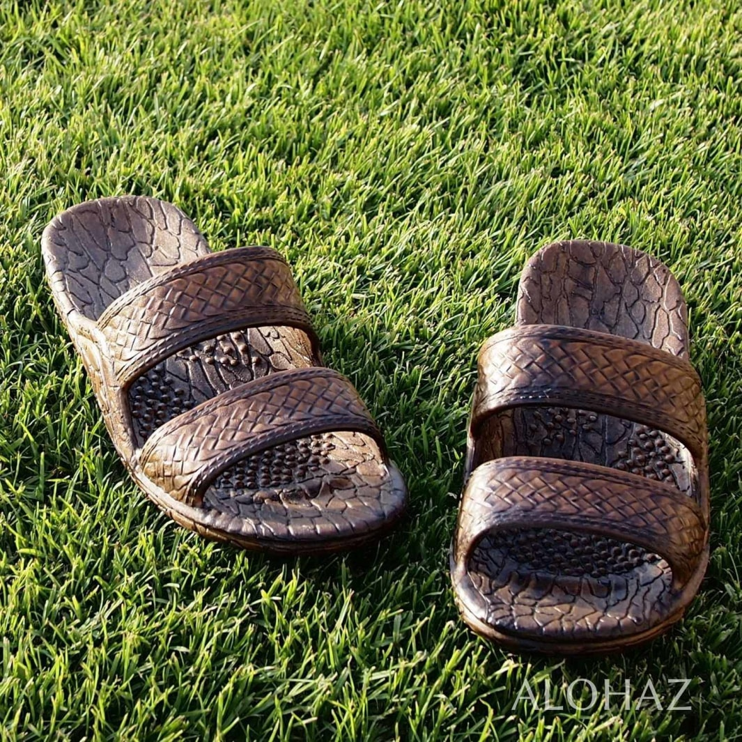 dark brown classic jandals® - pali hawaii Jesus sandals | hawaiian sandals pali hawaii flip flops
