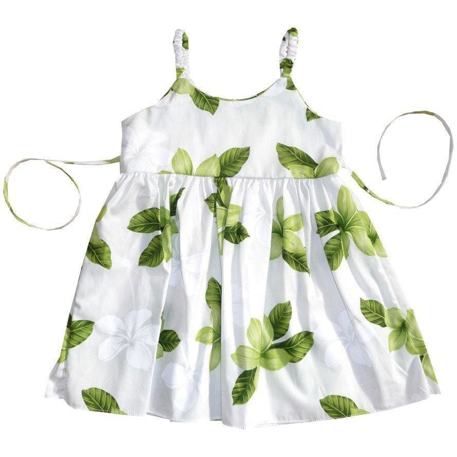 delight green hawaiian girl sundress | hawaiian girl dress