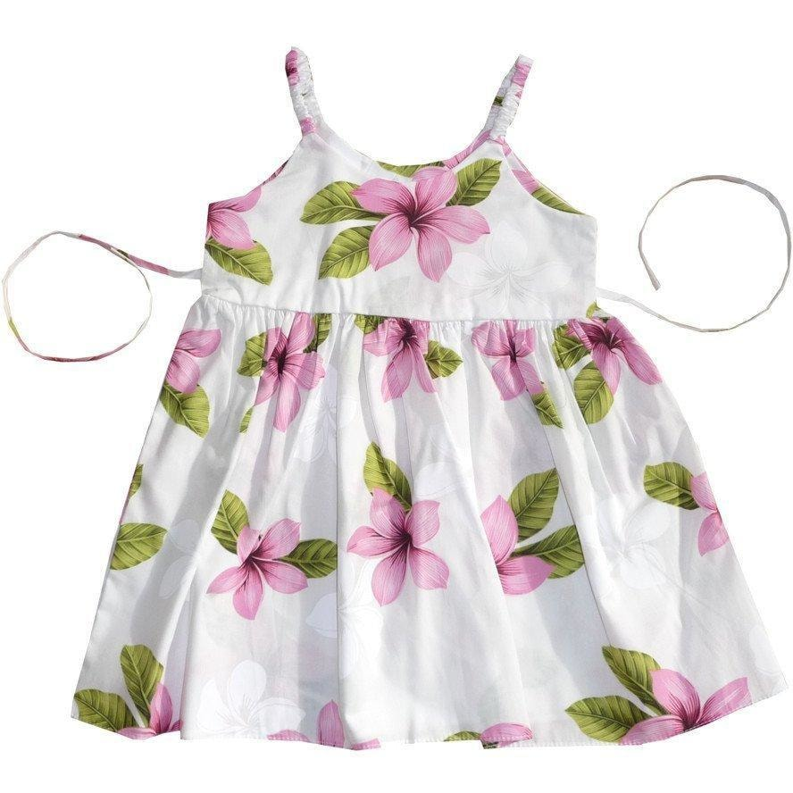 delight pink hawaiian girl sundress | hawaiian girl dress