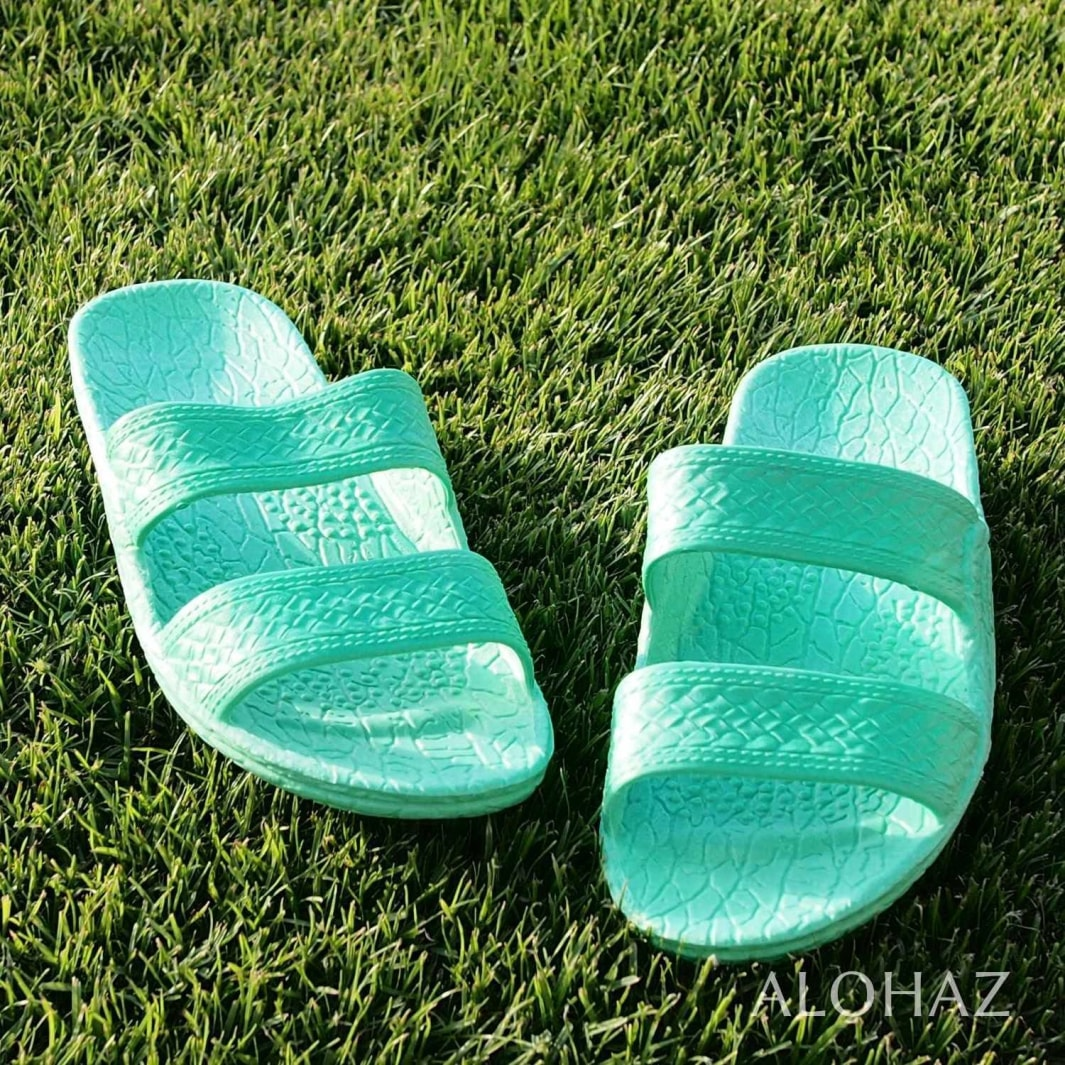 green classic jandals® - pali hawaii Jesus sandals | hawaiian sandals pali hawaii flip flops