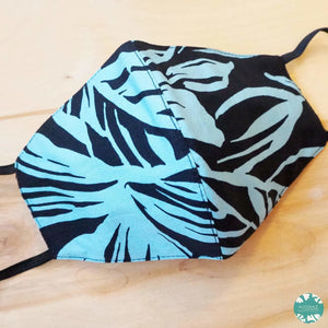 Hawaiian Face Mask ~ Black Hana Hou | face mask