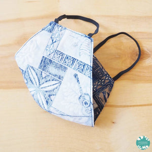 Hawaiian Face Mask ~ Blue He'eia | face mask