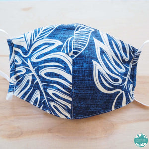 Hawaiian Face Mask ~ Blue Kaneohe | face mask