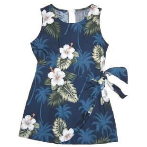 hilo hawaiian girl sarong dress | hawaiian girl dress