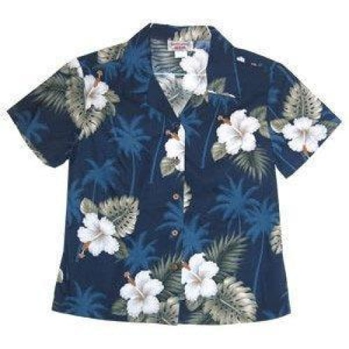 hilo hawaiian lady blouse | women blouse hawaiian