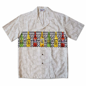 island brew cream hawaiian border shirt | hawaiian border shirt