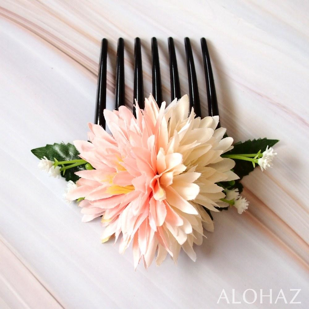 Island Mums Hawaiian Flower Hair Comb | Hair Accessories