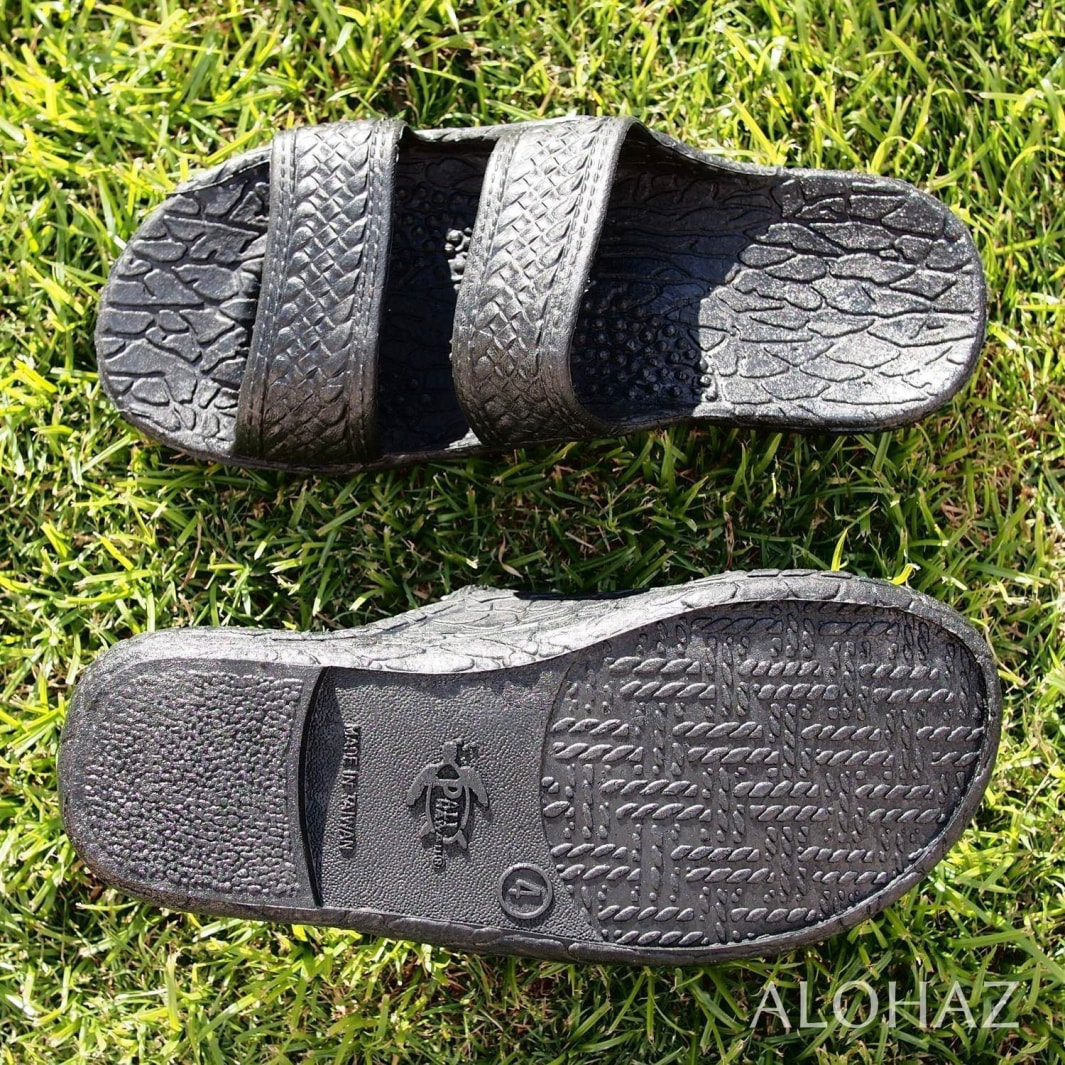 kids black classic jandals® - pali hawaii Jesus sandals | hawaiian sandals pali hawaii flip flops