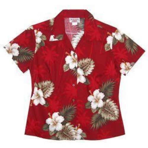 lava hawaiian lady blouse | women blouse hawaiian