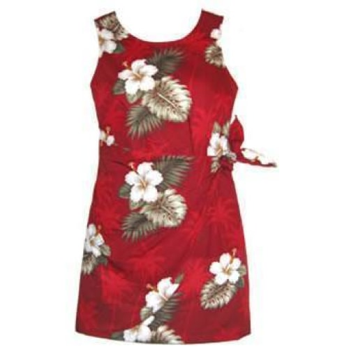lava hawaiian sarong dress | short dress hawaiian