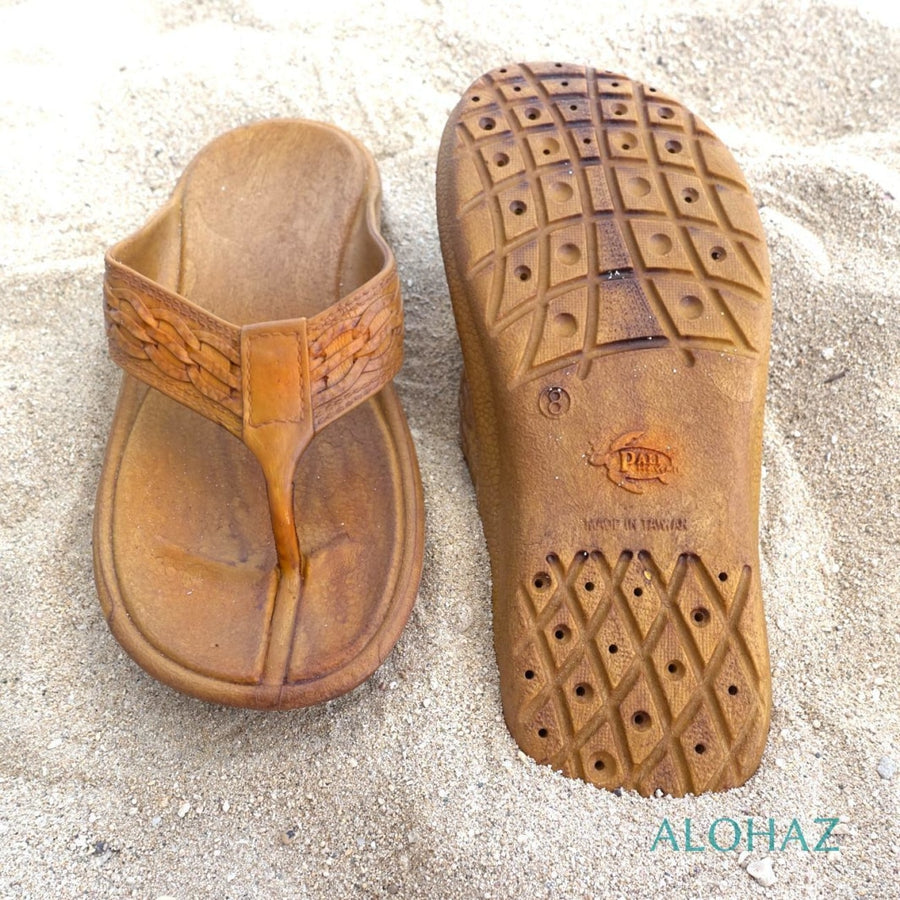 light brown shaka™ - pali hawaii thongs | hawaiian sandals pali hawaii flip flops