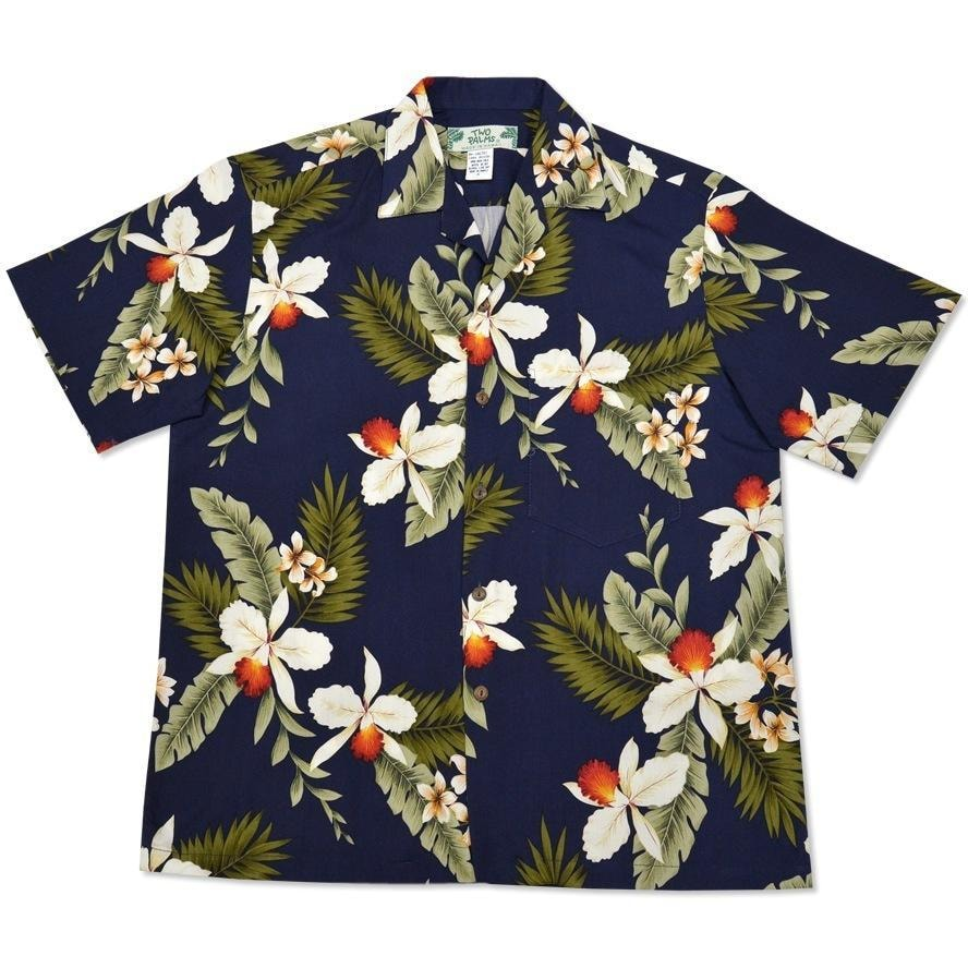 majestic blue hawaiian rayon shirt | hawaiian men shirt