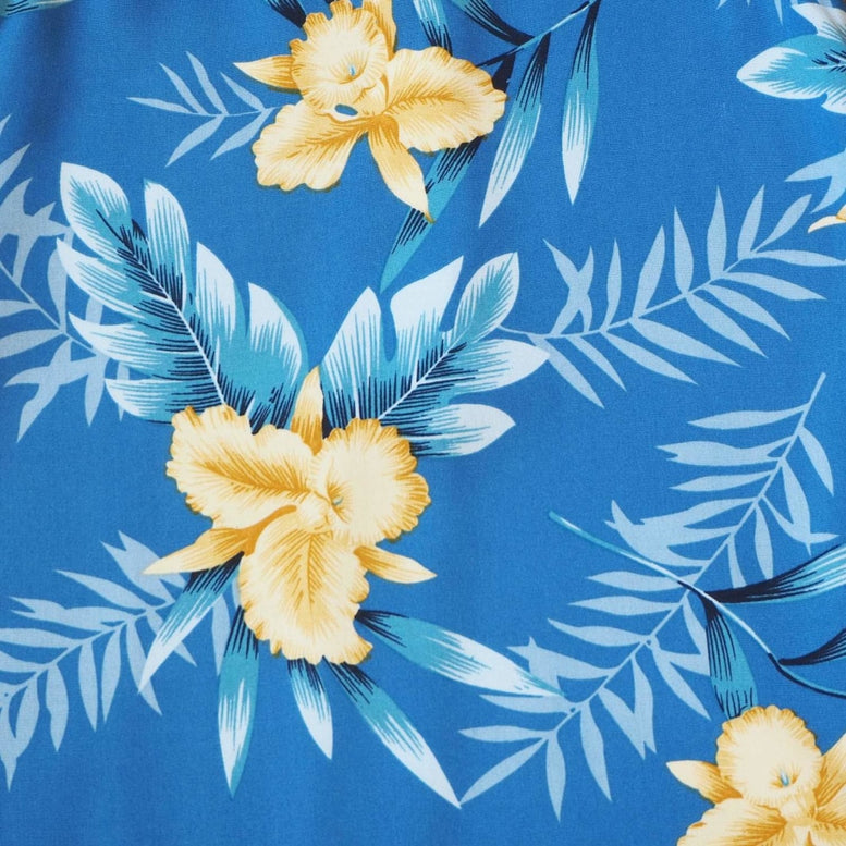 midnight blue hawaiian girl hula dress | hawaiian girl dress