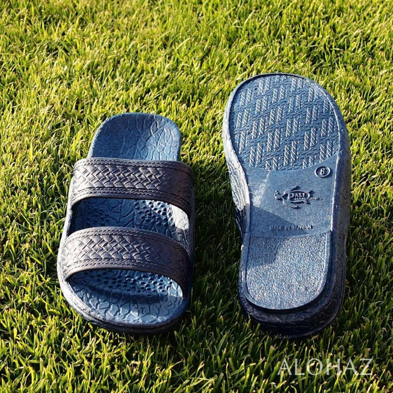 navy blue classic jandals® - pali hawaii Jesus sandals | hawaiian sandals pali hawaii flip flops