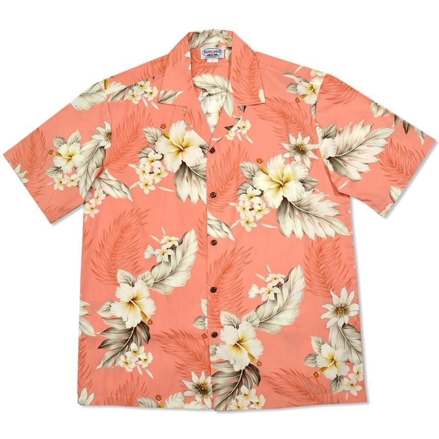 petal hawaiian cotton shirt | hawaiian shirt men