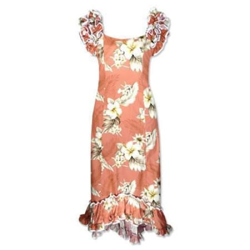 petal hawaiian meaaloha dress | long dress hawaiian