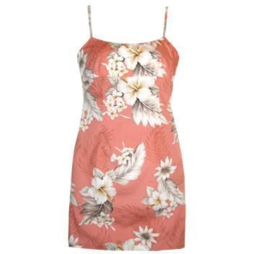 petal hawaiian spaghetti dress | short dress hawaiian