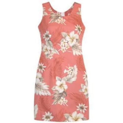 petal hawaiian tank dress | short dress hawaiian