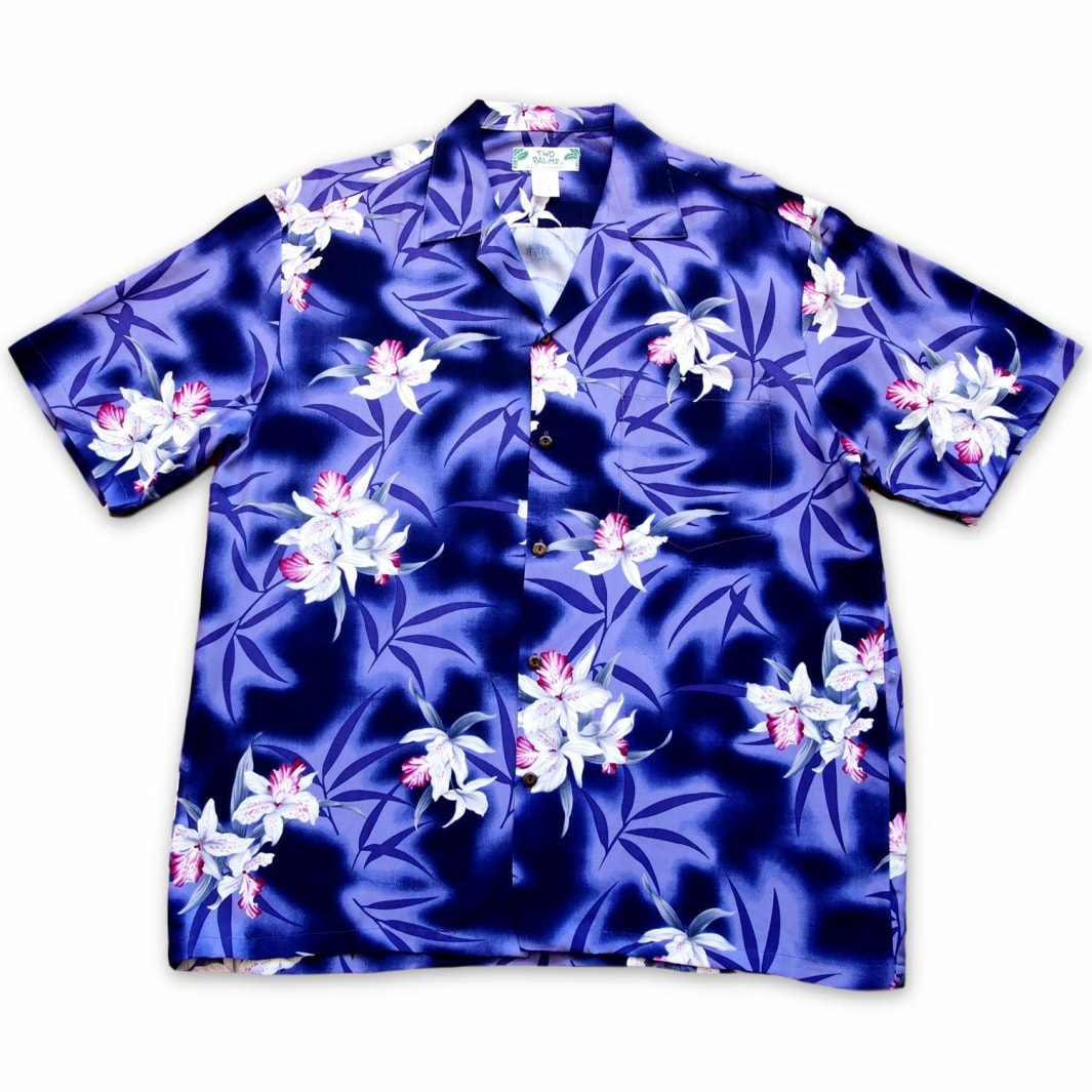 poipu purple hawaiian aloha rayon shirt | hawaiian men shirt