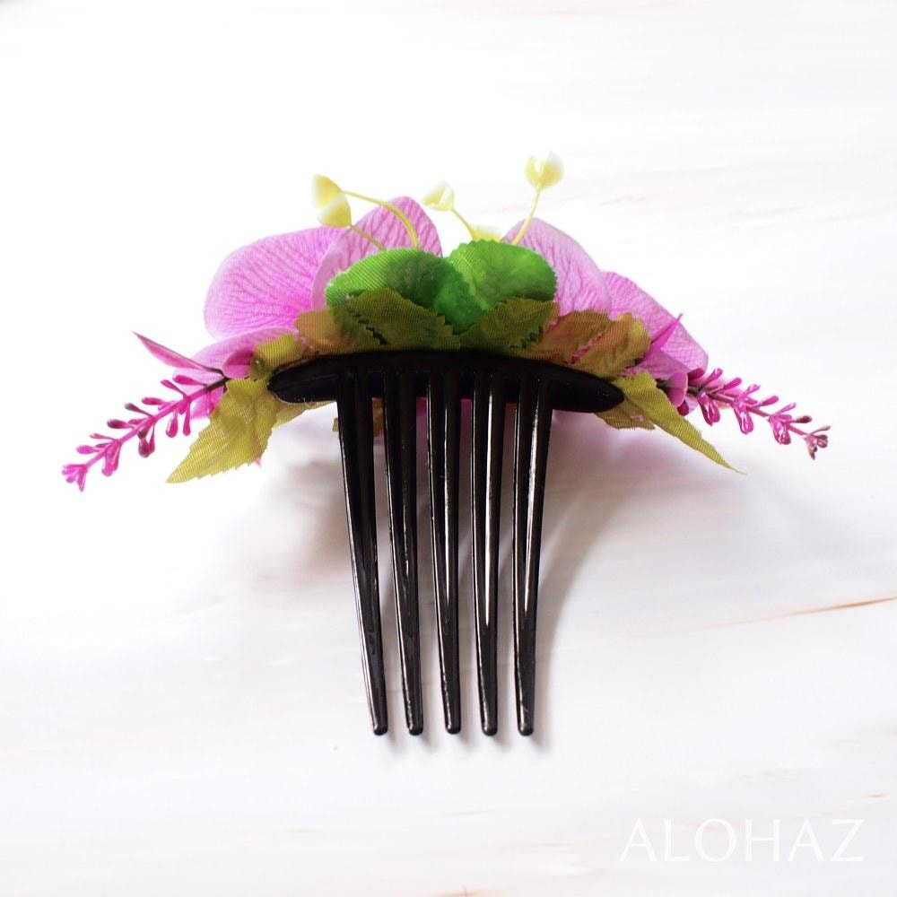 Purple Orchid Joy Hawaiian Hair Comb | Hair Accessories