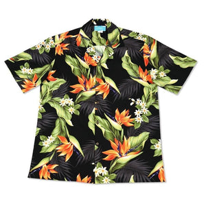 rainforest hawaiian cotton shirt | hawaiian shirt men