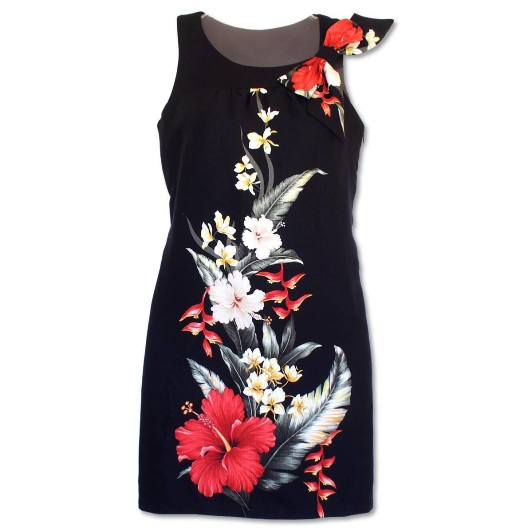 royal hibiscus lana hawaiian tank dress | short dress hawaiian