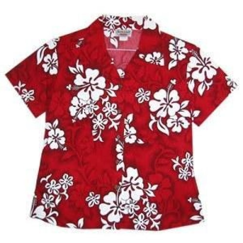 seastar hawaiian lady blouse | women blouse hawaiian